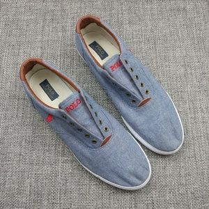 Polo by Ralph Lauren Vito Slip On Sneakers Sz 17D